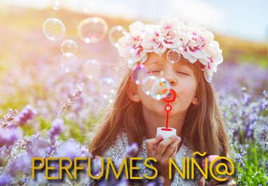 Perfumes niño